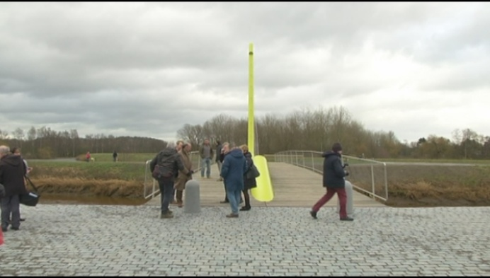 Sionbrug over Nete in Lier officieel open