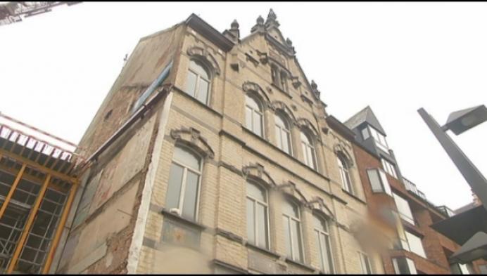 Oud postgebouw Turnovasite krijgt stilaan vorm