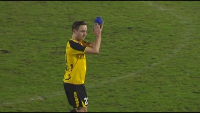 Zwarte Leeuw is enorm ontgoocheld na verlies in derby tegen Sint-Lenaarts