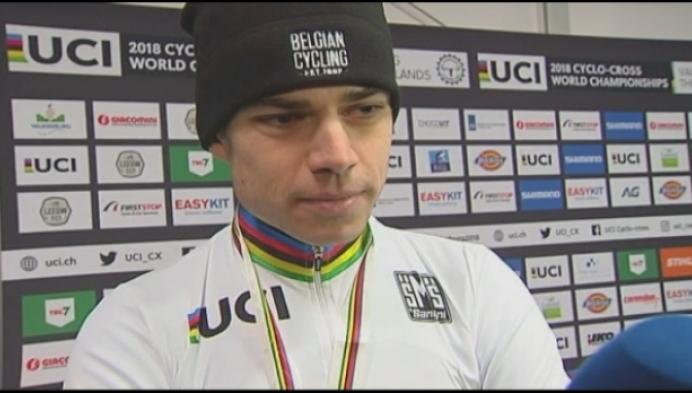 Wout Van Aert wordt voor de derde keer op rij wereldkampioen