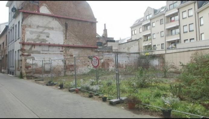 Sociaal Huis in Mechelen legt groene long aan