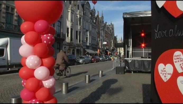 Romantiek op IJzerenleen in Mechelen