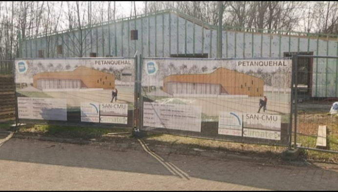Bornem zoekt uitbaters voor nieuwe petanquehal