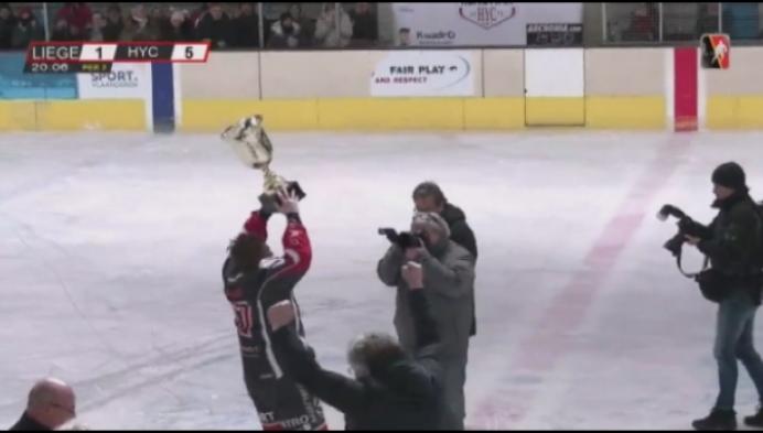 HYC is kampioen van België ijshockey