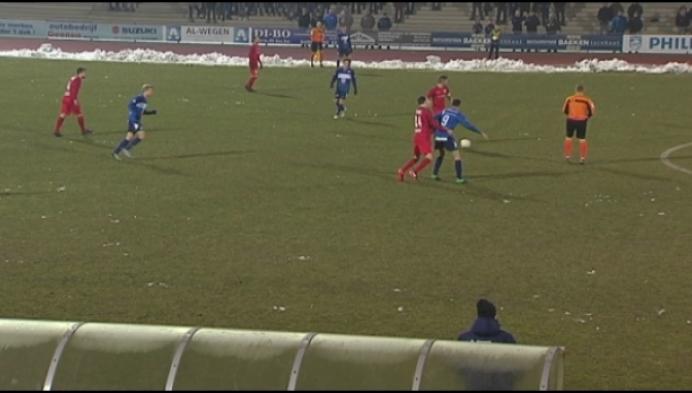 De derby tussen Turnhout en Vosselaar eindigt onbeslist.