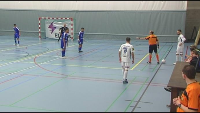 Real Noorderwijk is te plat tegen Futsal Hasselt