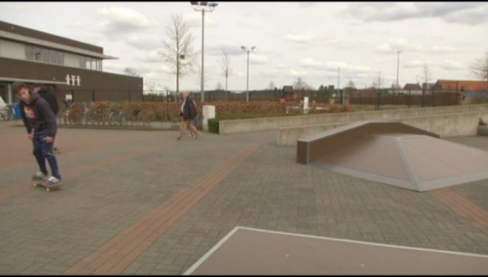Herseltse jeugd heeft eigen skatepark