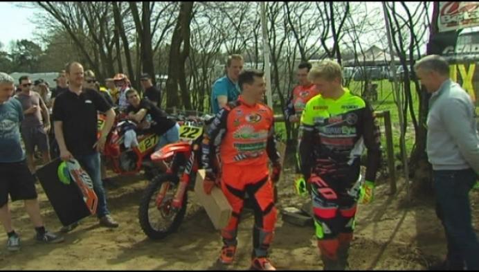 Wouter Van Massenhoven & Greg Smets tonen zich op VLM Lille