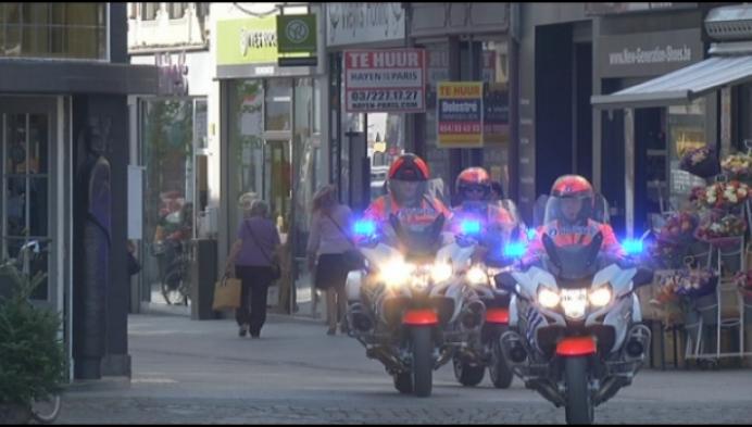 Nieuwe politiemoto's maken de straten veiliger