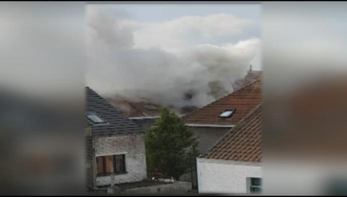 Zware brand verwoest rijhuis in centrum van Mechelen