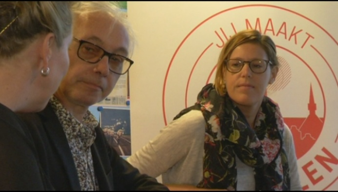 Patrick Riguelle en Indrani Muyldermans nieuwe SP.A-raadsleden