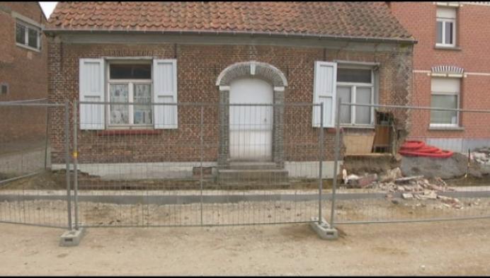 Oudste huis van Wiekevorst op instorten door werken