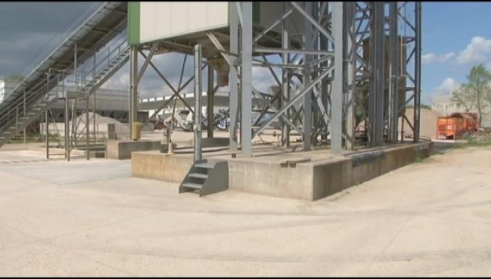 Opmerkelijke diefstal in betoncentrale