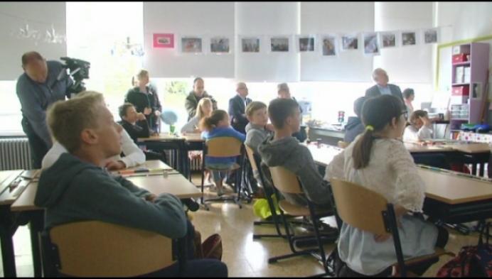 Leerlingen leren wat te doen bij een nucleair ongeval