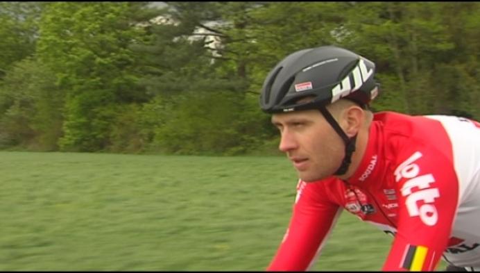 Voor Frederik Frison is de Giro zijn eerste grote ronde