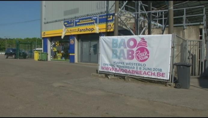 BaoBab: grootste zomerbar van de Kempen op parking van KVC Westerlo