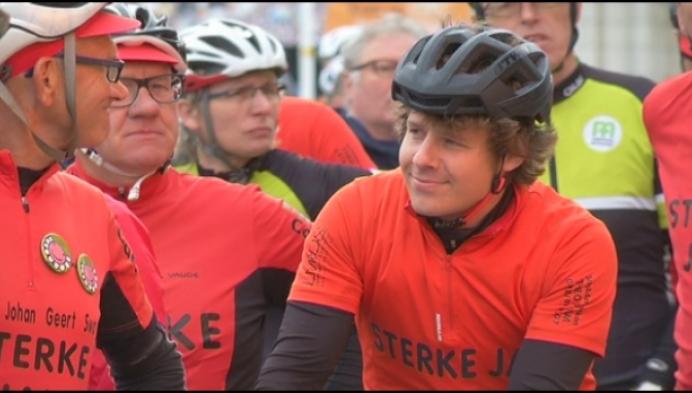 Zieke Yesse wil 1000 km voor KOTK uitfietsen