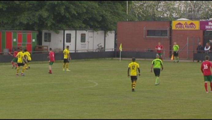 Lille wint met 0-2 bij Berg & Dal en gaat door