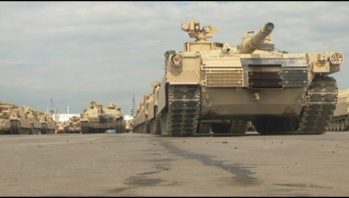 1000 Amerikaanse soldaten in kazerne Grobbendonk