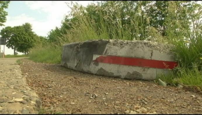 Tractorsluis Wiekevorst-Morkhoven afgebroken door vandaal