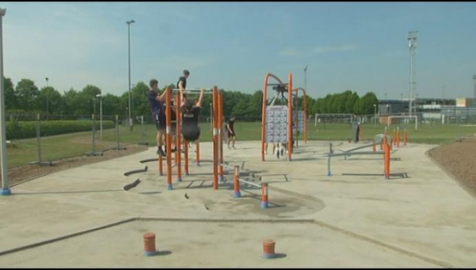 Geel krijgt outdoor fitness