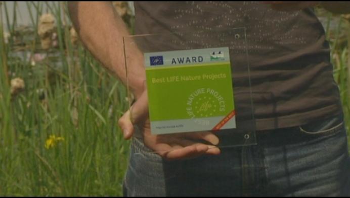 Kleine Nete wint Europese natuurprijs