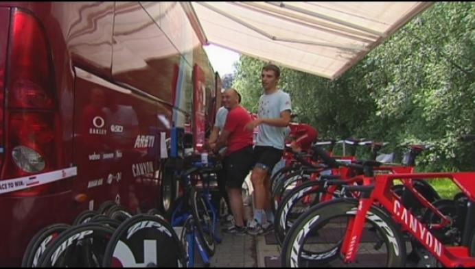 Renners in de Ronde Van België