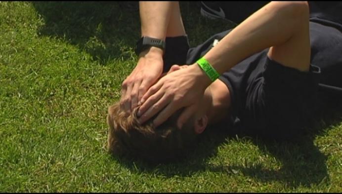 Puffen en zweten op Provinciaal Kampioenschap meerkampen in Herentals