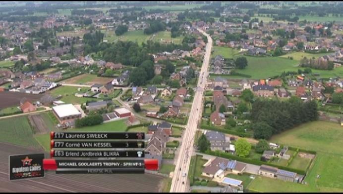 Laurens Sweeck wint de Trofee Michael Goolaerts