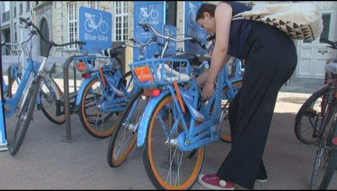 Blue-bike voortaan ook in Mechels stadscentrum
