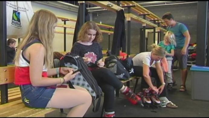 Verkoeling zoeken op Mechelse schaatsbaan