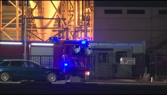 Ontploffingen bij brand op industriezone