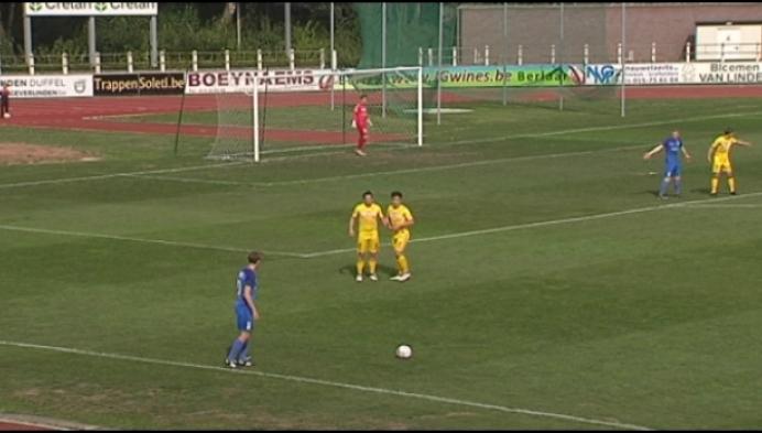 Duffel - Vosselaar delen de punten in attractief duel