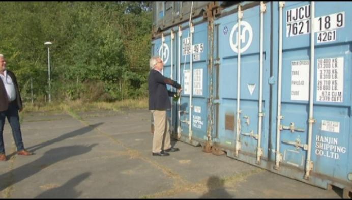 Kamp C onderzoekt bouwmogelijkheden van zeecontainers