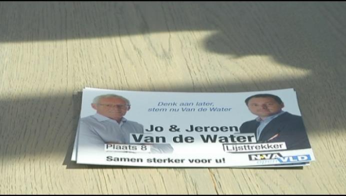 Familie Van de Water blijft in Kastelse politiek, maar niet bij zelfde partij