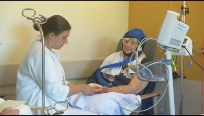 Kankerpatiënten in de watten