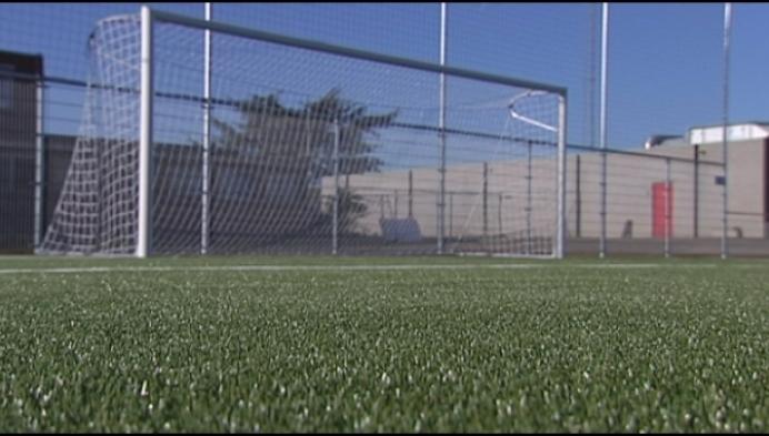 Kunstgrasveld voor voetbalterrein Duffel