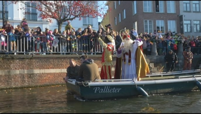 Sinterklaas komt ook even langs in Lier