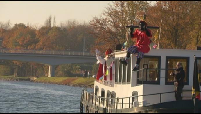 Mee op de Sint-boot richting Herentals