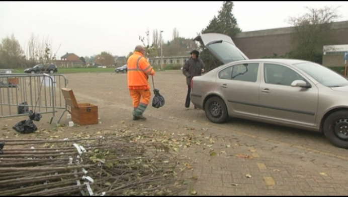 1200 gezinnen krijgen boom van gemeente Nijlen