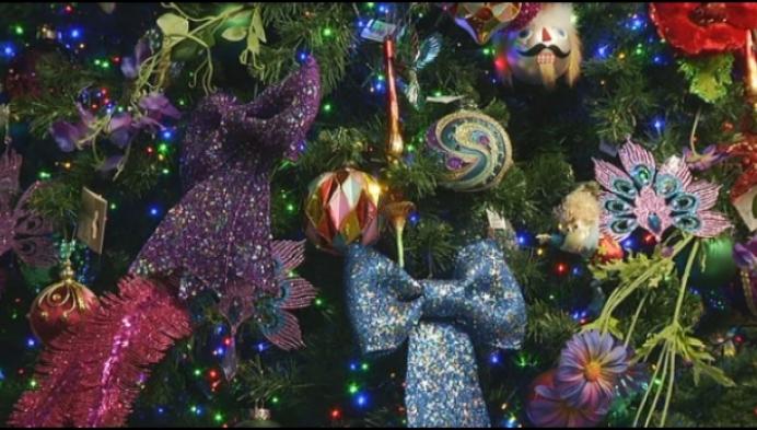 """""""Dit jaar veel verschillende kleuren in de kerstboom"""""""