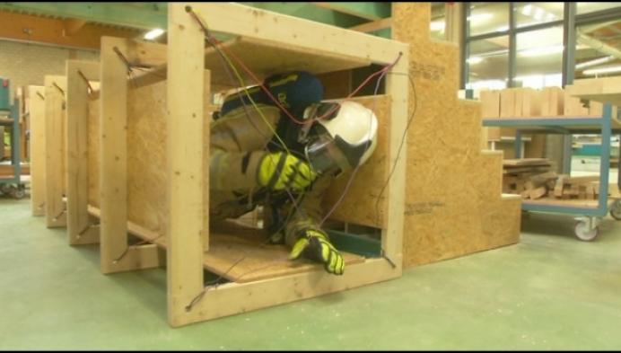 Sint-Jozefinstituut bouwt oefentoestellen voor brandweer