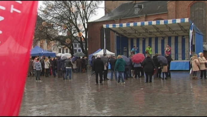 """Turnhout zet nieuwe jaar in: """"Ik verwacht een veilige stad"""""""