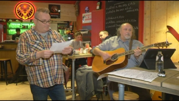 Willebroekse zanger eert Wannes Van de Velde
