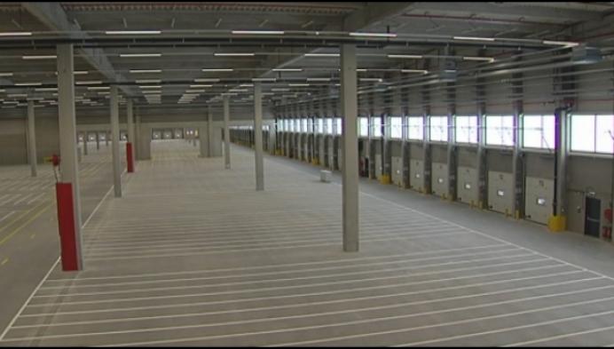Tientallen extra banen in nieuw distributiecentrum Aldi in Turnhout
