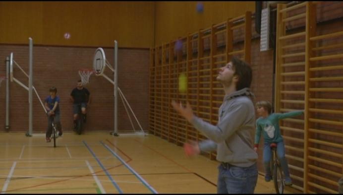 Circusschool krijgt 11500 euro voor show voor mindervaliden