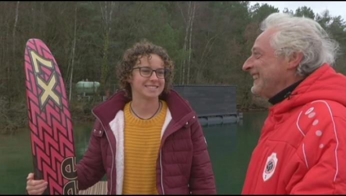 Lilse Jasmin Geens verkozen tot wereldatlete waterski