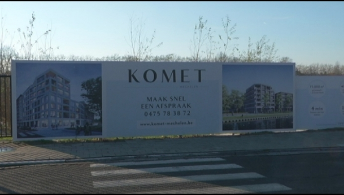 Komet site in Mechelen wordt thuishaven voor cohousing project