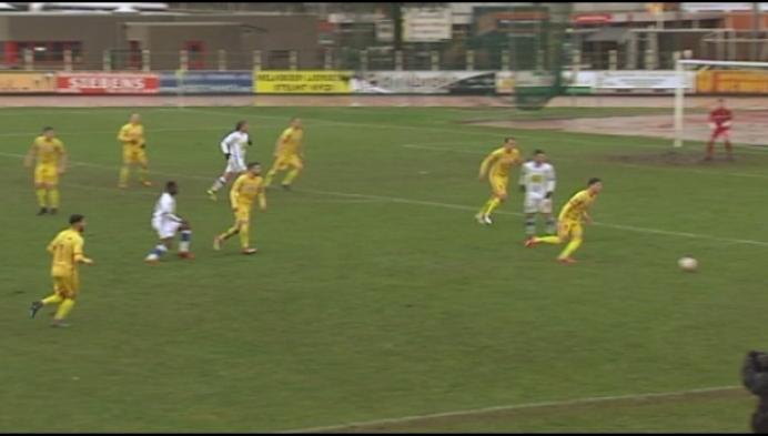 Duffel haalt 0-3 op met man minder tegen Temse