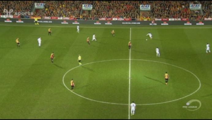 KV Mechelen krijgt 0-5 om de oren van Union